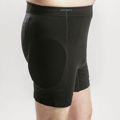Hip Protector Set in Black