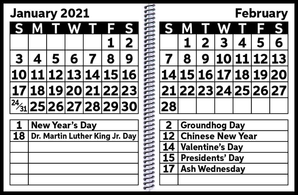 2021 EZ2See Open Calendar