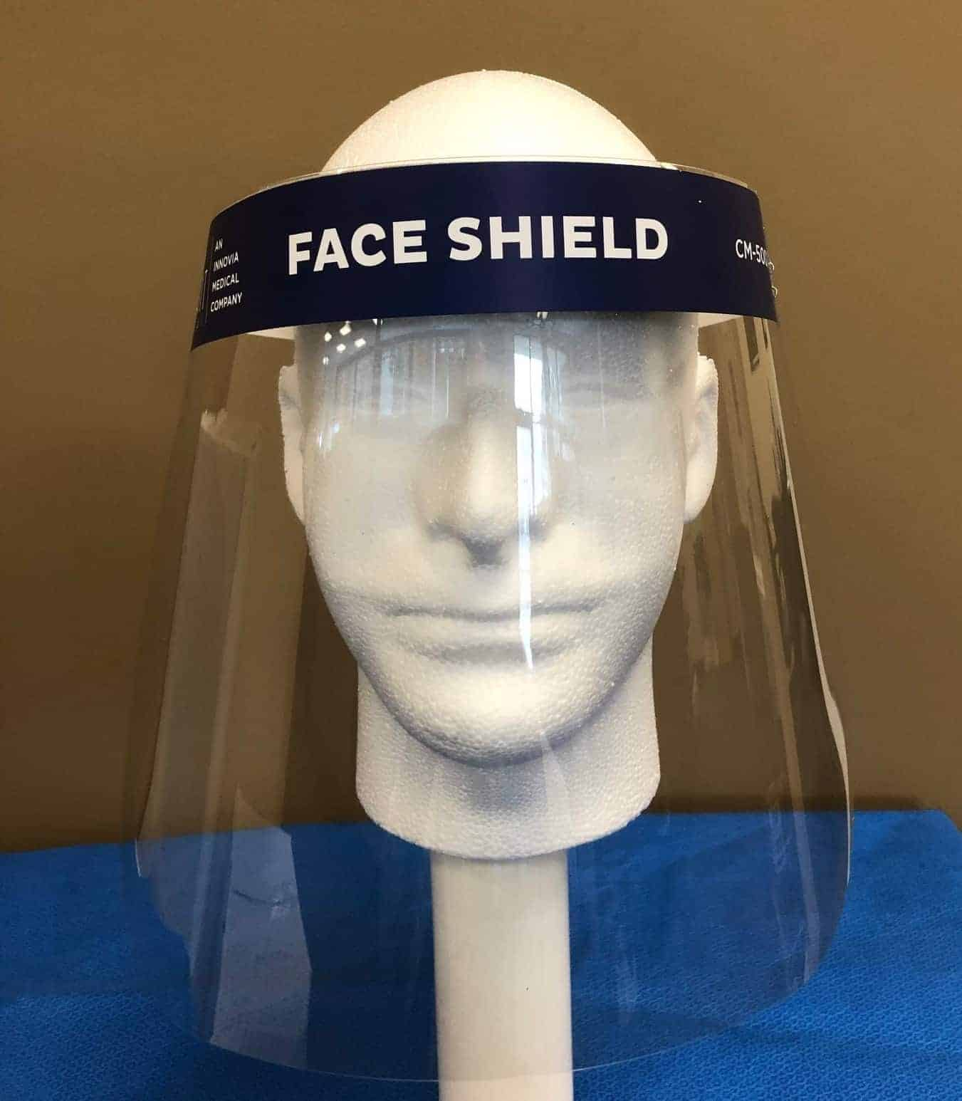 Face Shield Mannequin